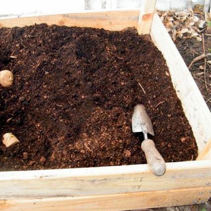Торф для приготовления компостов